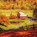 Autumn At Sleepy Hollow Pomfret by Jeff Folger