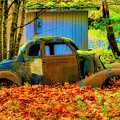 Autumn Auto by Garry Gay