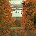 Autumn Back Road To Moosehead Lake by Dan Sproul