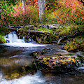 Autumn Cascades by TL Mair