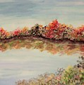 Autumn Clear Fay Reflection by Lisa Bunsey
