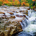 Autumn Color At Rocky Gorge by Jeff Sinon