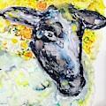 Autumn Crown Sheep by Monique Faella