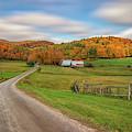 Autumn Day At Jenne Farm by Kristen Wilkinson