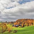 Autumn Foliage At Jenne Farm by Kristen Wilkinson