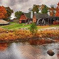 Autumn Foliage On The Saugus River by Jeff Folger