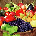 Autumn Fruit And Vegetables by Jasmina007