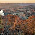 Autumn Glory At Inspiration Point - Eureka Springs Arkansas by Gregory Ballos
