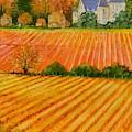 Autumn In French Vineyards by Dai Wynn