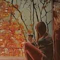 Autumn In Paris by Olga Lebedeva