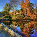 Autumn On The Reservoir by Joann Vitali