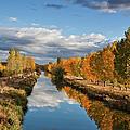 Autumn Reflection by Miguel Calleja Diez