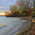 Autumn Sunset by Angela Murdock