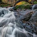 Autumn Waterfall In Hallowell by Rick Berk
