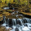 Autumn Waterfalls  by Thomas R Fletcher