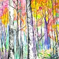 Autumn Woods by Lisa Bunsey