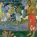 Ave Maria, Hail Mary by Paul Gauguin