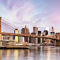 Awesome Sunrise Over New York Skyline by Matteo Colombo