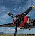 B-24 Liberator Prop by Jon Burch Photography