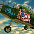 B-25 Mitchell Bomber by Blake Richards