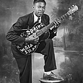 B. B. King Early Portrait by Michael Ochs Archives
