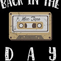 Back In The Day 80s Cassette Funny Old Mix Tape by Henry B