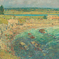 Bailey's Beach, Newport, R.i. by Childe Hassam