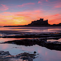 Bamburgh Castle Bam0032 by David Pringle