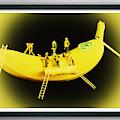 Banana Boat Mining Company Black Frame by Steve Purnell