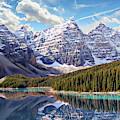 Banff National Park by Anthony Dezenzio