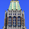 Bank Of America Building Close Up Baltimore by James Brunker