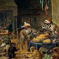 Banquete De Monos   by Teniers  David