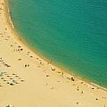 Barcelona Beach by Dhuss