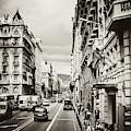 Barcelona Street Life by Ana V Ramirez