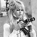 Bardot During Viva Maria Shoot by Ralph Crane