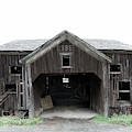 Barn 1886, Old Barn In Walton, Ny by Gary Heller