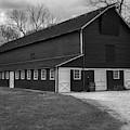 Barn House  Bw by Susan Candelario