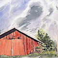 Barn In Finland by Sami Matilainen