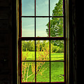 Barn Window View by Tom Singleton