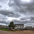 Barnstable Yacht Club October by Charles Harden