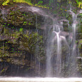 Base Of Waimoku Falls by Christopher Johnson