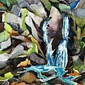 Bash Bish Falls - 3 by Lynne Bolwell