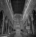 Basilica Of San Frediano Bw Lucca Italy by Joan Carroll