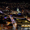 Bath At Night In December by Tim Gainey