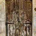 Battered Door by Jean Noren