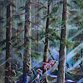 Battle Of Chancellorsville - The Wilderness by Philip Bracco