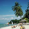 Batu Ferringhi Beach At Penang Island by Adina Tovy