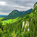 Bavarian Alps Panorama by Borja Robles