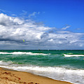 Beach Day In Fort Lauderdale by John Rizzuto