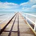 Beach Pier by Top Wallpapers
